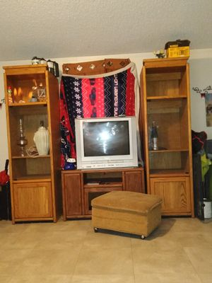 TV stand with storage for Sale in San Angelo, TX