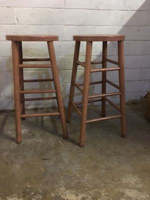Bar stools 10 pieces Metal with wooden design for Sale in Richardson, TX