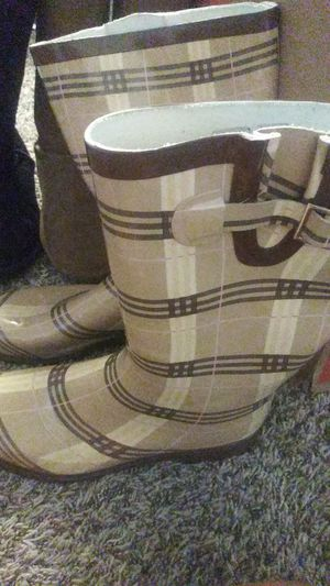 Rain boots. Women size 10 for Sale in Kent, WA