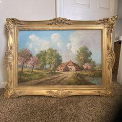 Large Antique Oil Painting for Sale in Santa Cruz, CA