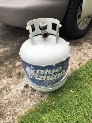 Blue rhino used for heater buddy don't have any more I think it's half full asking 25$ obo thanks for Sale in Portland, OR