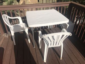 3 pc patio set outdoor furniture for Sale in Ridgefield Park, NJ