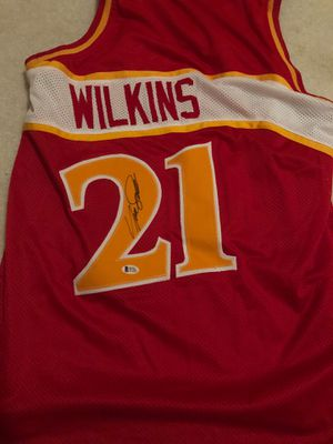 Wilkins signed jersey for Sale in Niles, IL