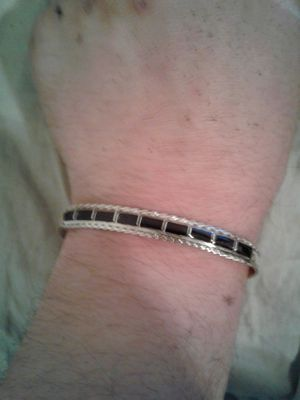 Authentic Zuni Native American Sterling Silver Bracelet for Sale in Los Angeles, CA