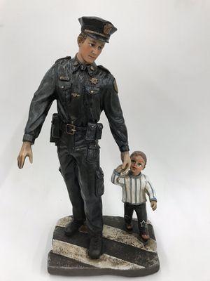 Police & Son Statue for Sale in Perth Amboy, NJ