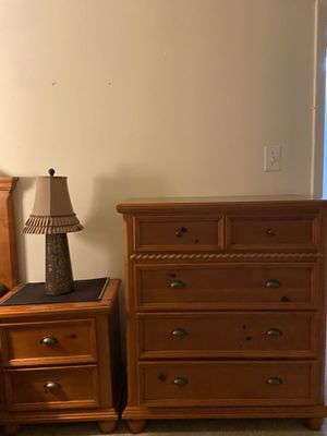 Twin bed, nightstand and dresser for Sale in Burke, VA