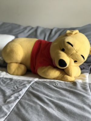 Winnie the Pooh plush MEDIUM SIZE for Sale in Yorkville, IL