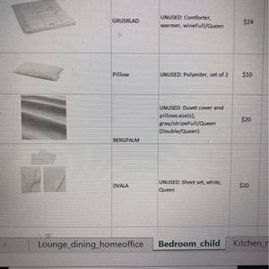 Bed Linens, Queen Size for Sale in Washington, DC