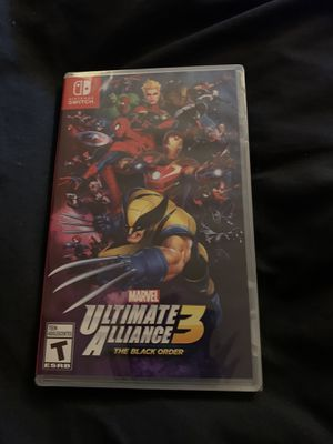 Marvel Ultimate Alliance 3 NEW NINTENDO SWITCH for Sale in Washington, DC