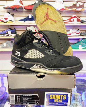 "Air Jordan 5 Retro ""Black Metallic"" 2011 for Sale in Bay Point, CA"