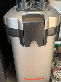 Marineland Canister Filter 80-100 GPH for Sale in Claremont,  CA