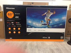 65 INCH HISENSE H9 PLUS 4K SMART TV for Sale in Chino, CA