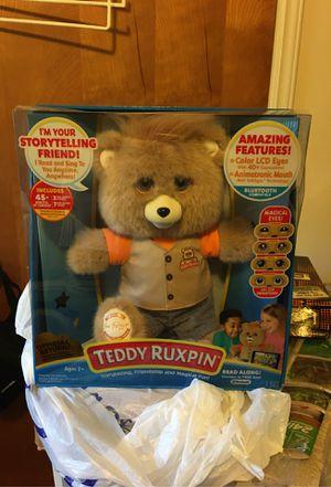 2017 Teddy Ruxpin (new in box) for Sale in Spartanburg, SC