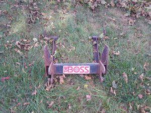 Boss Snow Plow mount for Sale in Beech Grove, IN