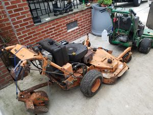 "Bobcat 34"" and Scag 54"" mowers for Sale in Wheaton, MD"