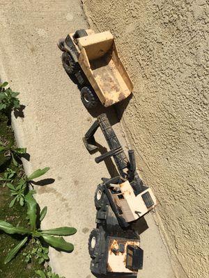 Metal tonka trucks for Sale in Delano, CA
