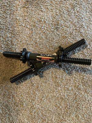 "(1) set of 2 CAP 14"" dumbbell handles for Sale in Phoenix, AZ"