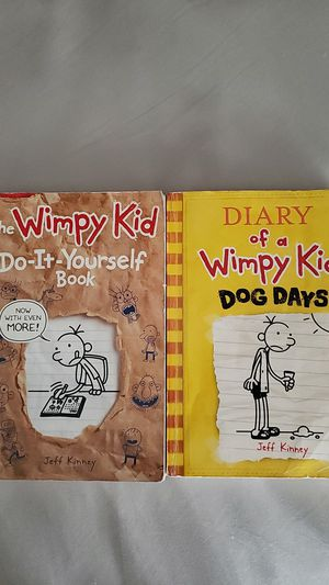Diary of a wimpy kid books for Sale in Downey, CA