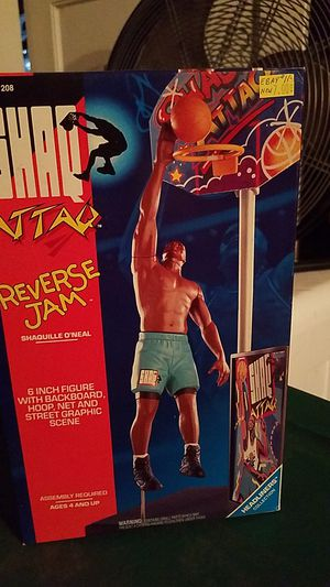 SHAQ ATTAQ REVERSE JAM ACTION FIGURE NEW IN BOX for Sale in Tampa, FL