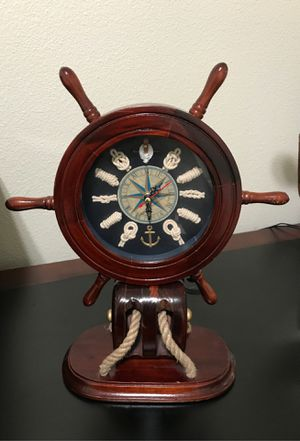Wooden Clock for Sale in Portland, OR