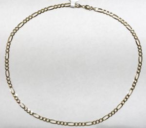 "14K Yellow Gold Unisex Figaro Chain 20"" $614.99 for Sale in Tampa, FL"