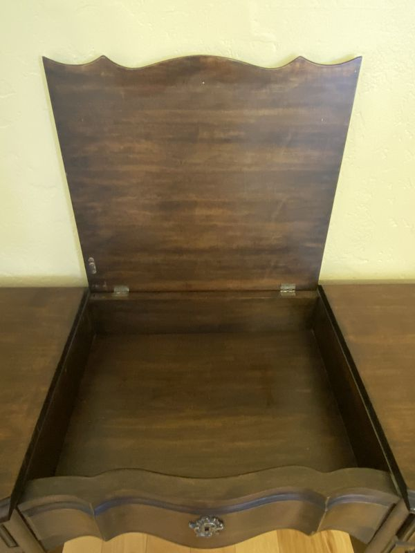 Beautiful Wood Vanity or Writing Desk (USA Made) (Pending)