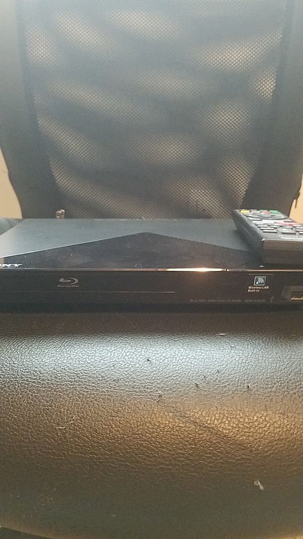 Sony Blu-Ray/DVD Smart Player