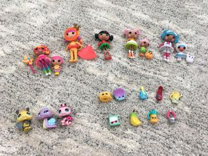 Lollaloopsy, LPS, and Shopkins for Sale in Virginia Beach, VA
