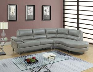 New gray sectional sofa couch for Sale in Orlando, FL