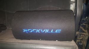 """Rockville 12"""" subwoofer with 600W amp for Sale in Columbus, MS"""