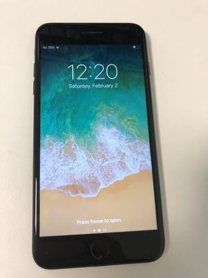 iPhone 7 Plus (ATT or T Mobile, 32GB, Black w/ Kate Spade Case for Sale in Houston, TX