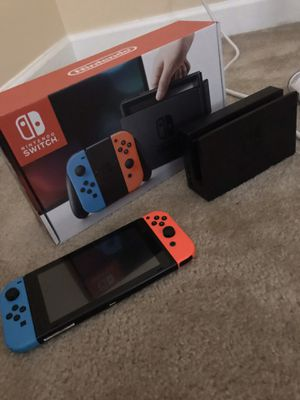 Nintendo switch console for Sale in Fort Washington, MD