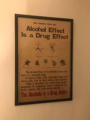 prohibition poster - original 1920's for Sale in Alexandria, VA