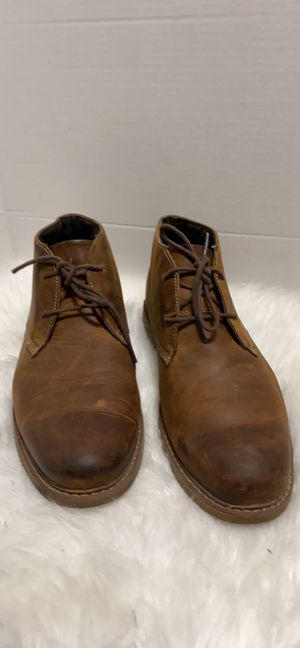 Timberland Men's 2 Eye Lace up Brown Leather Chukka Boot A13JV Brown Size 10 M for Sale in Dearborn, MI