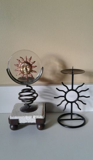 2 Sun Candle holders for Sale in Homewood, IL