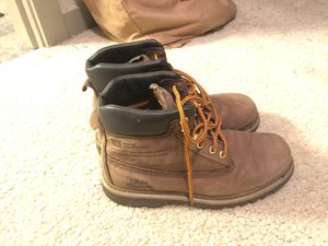 Men's 9.5 CAT work boots for Sale in St. Louis, MO