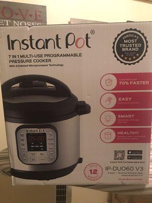 Instant Pot 6quart for Sale in Stanton, CA