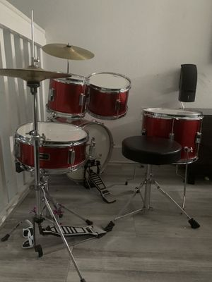 Kids Complete Drum Set- Like New for Sale in Miami, FL