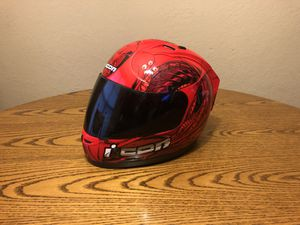 Icon Motorcycle Helmet for Sale in Cache, OK