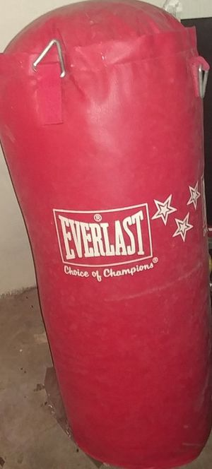 Punching bag for Sale in Davenport, IA
