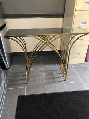 Gorgeous Hollywood Glam / Mid Century Modern Mirror Console table for Sale in Fort Lauderdale, FL