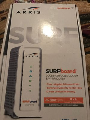 Cable modem/WiFi router for Sale in Harvey, LA
