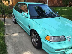 Ef Honda Civic 91 for Sale in Silver Spring, MD