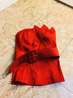Red Hot Tube Top With Belt for Sale in Garden Grove, CA