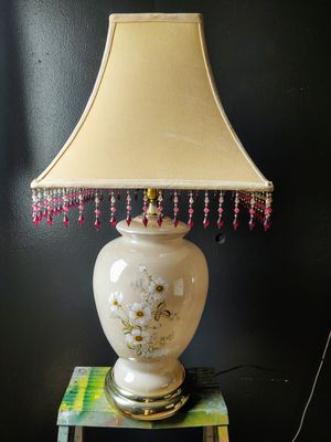 Vintage Glass Lamp for Sale in Pleasant Hill, IA