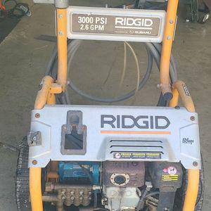 Ridged 3000 PSI 2.6 GPM Cost $800 NEW for Sale in Bradenton, FL