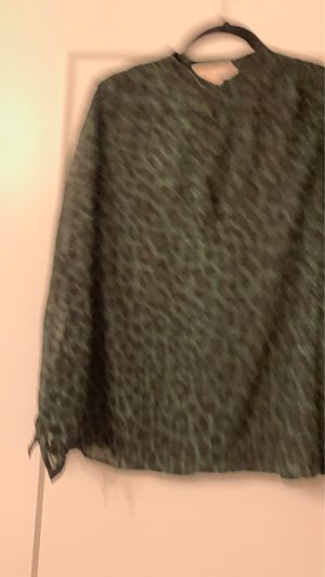 Michael Kors size small green cheetah print it is a awesome material for Sale in Kirkwood, MO