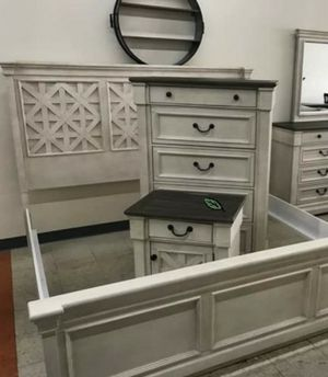 🍻$39 Down Payment 💥  SPECIAL] Bolanburg Antique White Panel Bedroom Set for Sale in Jessup, MD