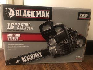 Brand New, Black Max gas chainsaw for Sale in San Diego, CA