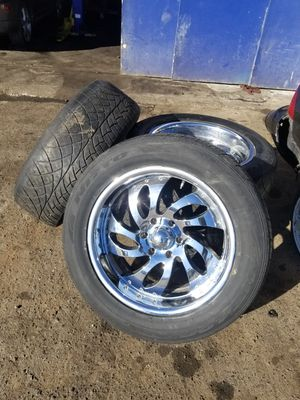 20 inch rims (4) for Sale in Seattle, WA